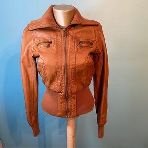 River Island short motorcycle jacket
